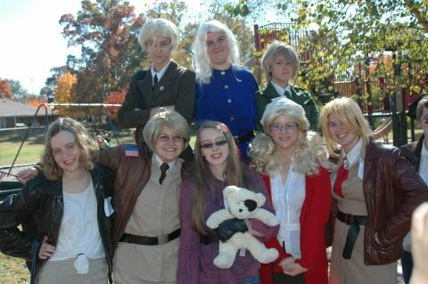 Allied Forces cosplay at Hetalia Day 4 by southpony98