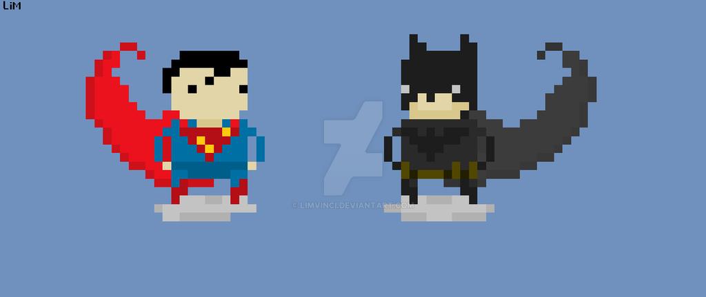batman vs superman pixel - photo #13