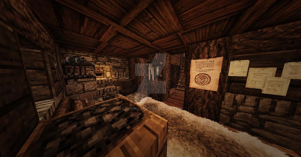 Minecraft Nordic House Interior Design 2 By Limvinci On Deviantart