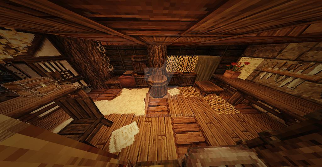 Minecraft Nordic House Interior Design 4 By Limvinci On Deviantart
