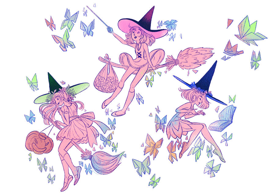 Halloween - Little Witches by ODRE