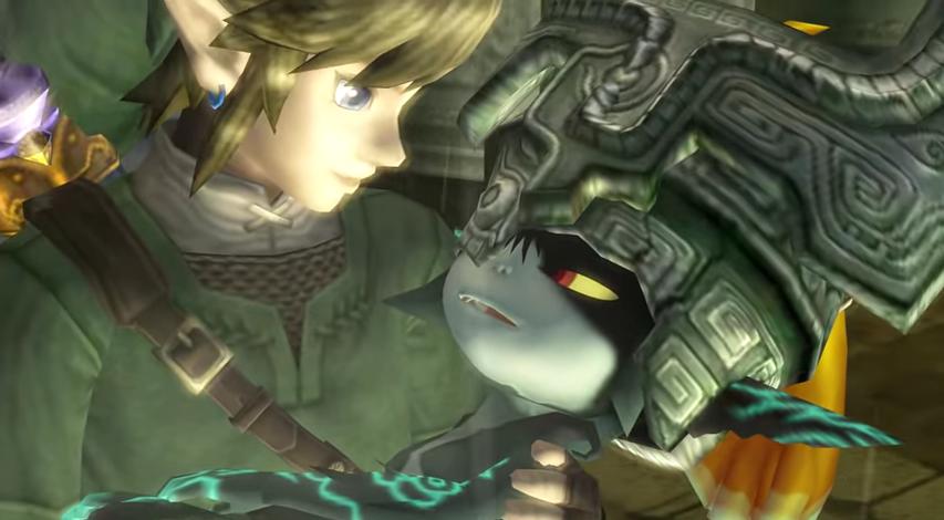 Midna And Link Screenshot