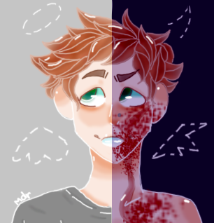 devils train (BLOOD WARNING) by XTheArtFartX