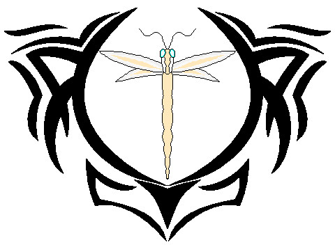 Recreation of Tattoo - dragonfly tattoo