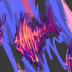 Inktober day-1: fish