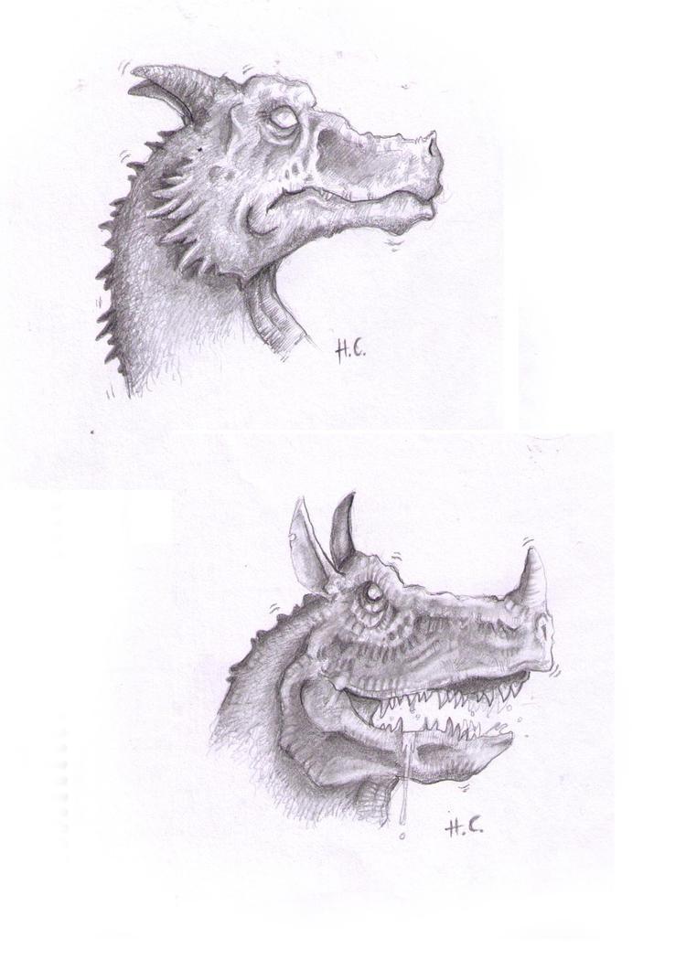fire breathing lizards by Pencil-guy on DeviantArt