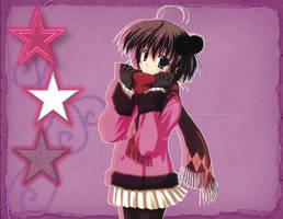 Winter Anime Girl by AngelKapata