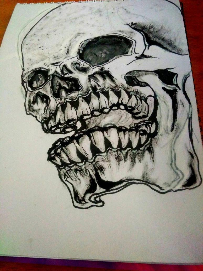 Skull Agony  by GeeDonV