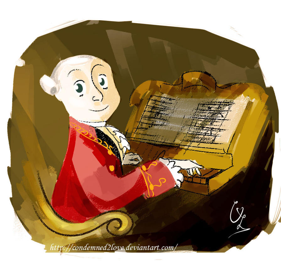 Young Mozart by condemned2love