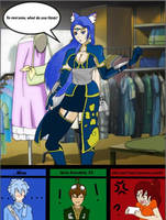 RWBY OC Team GALE goes clothes shopping by JettErebus
