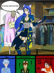RWBY OC Team GALE goes clothes shopping
