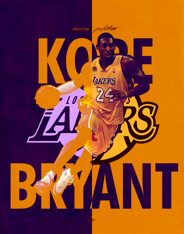super popular 59ad7 fb4fc Kobe Bryant Poster by cz25 ...