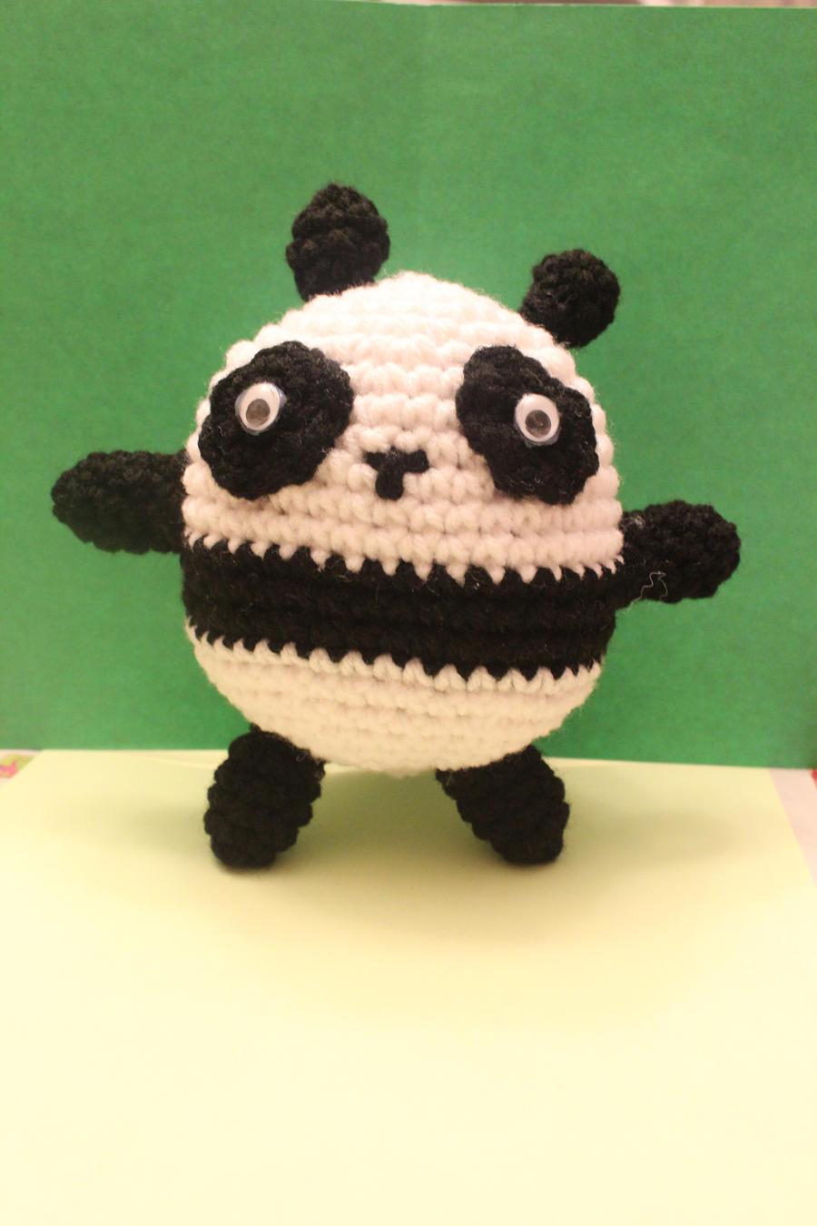 Amigurumi De Panda : Amigurumi Panda by Dbomb252 on DeviantArt