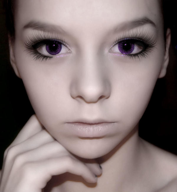Behind the purple eyes by EmaJanePhotography on DeviantArt  Behind the purp...