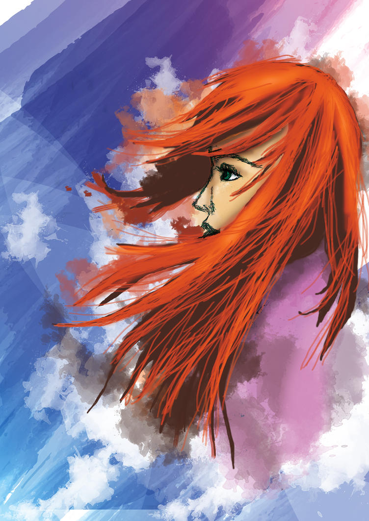 Wind through my hair... by Vauny-chanLovesArt
