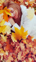 autumn sleep by alexciel