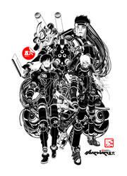 BLACK FORTRESS by machine56