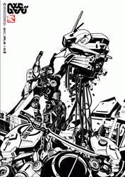 anti gundam vr by machine56