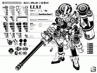 Mecha bastards by machine56
