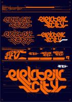 Elektrik City logo. by machine56