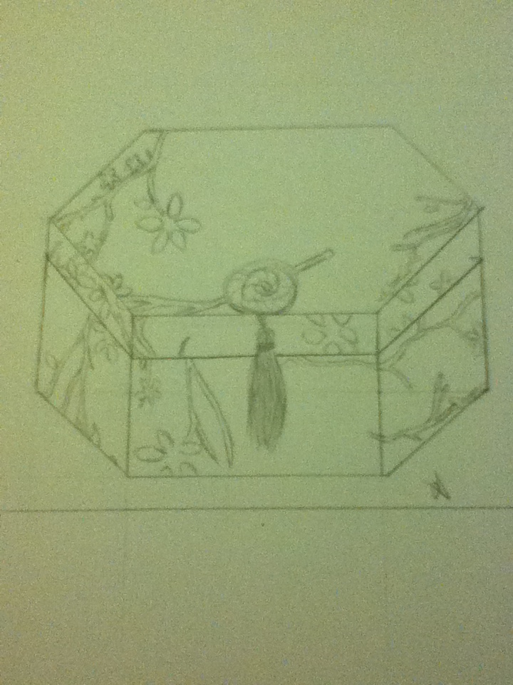 Jewelry box sketch by SoulOfAnAurora on DeviantArt