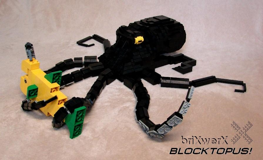 Blocktopus 1 by incrediBRICK