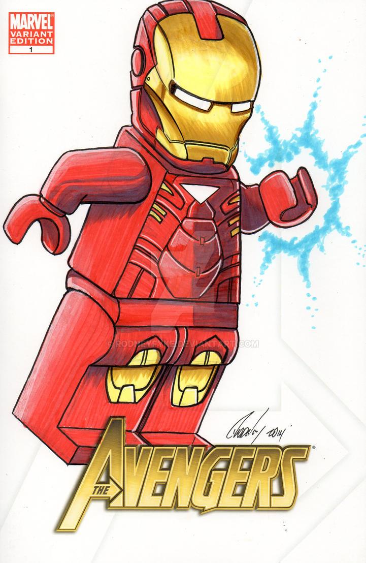 Iron Man The Avengers #1 by rodneyfyke