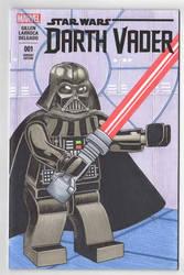 Lego Darth Vader Sketch Cover
