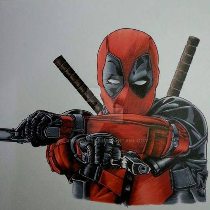 Deadpool Illustration by rodneyfyke