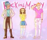 Rick and Morty Genderbend