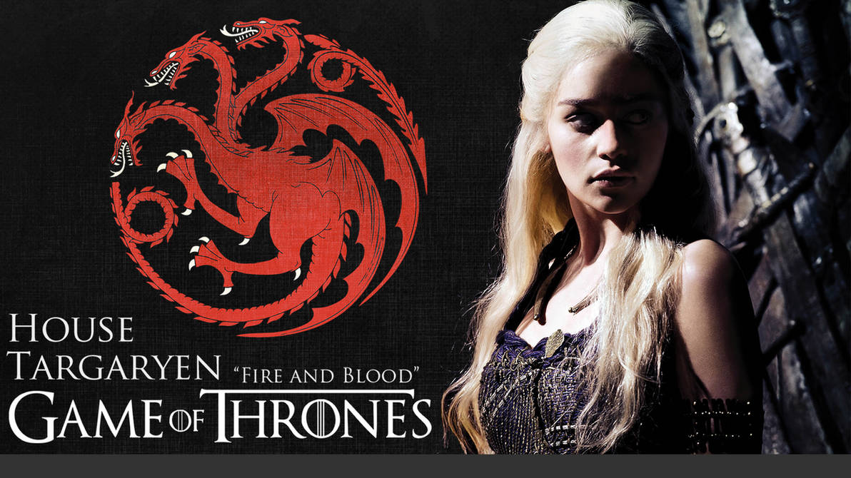 Game Of Thrones House Targaryen Wallpaper Hd By Davef30 On