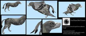 FeralHeart Bird Texture by FanguoftheFlowers