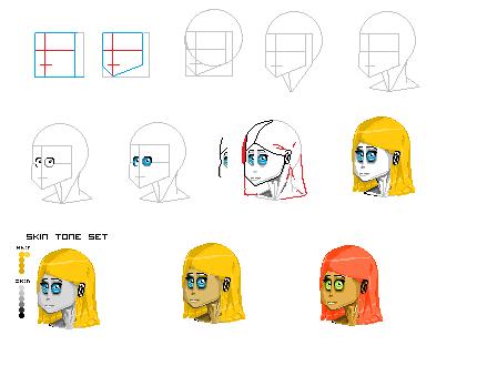 Character practice#1 by TrojenMonkey
