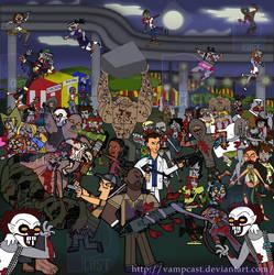 Left4dead 2: The dark carnival by TORRE-ANGEL