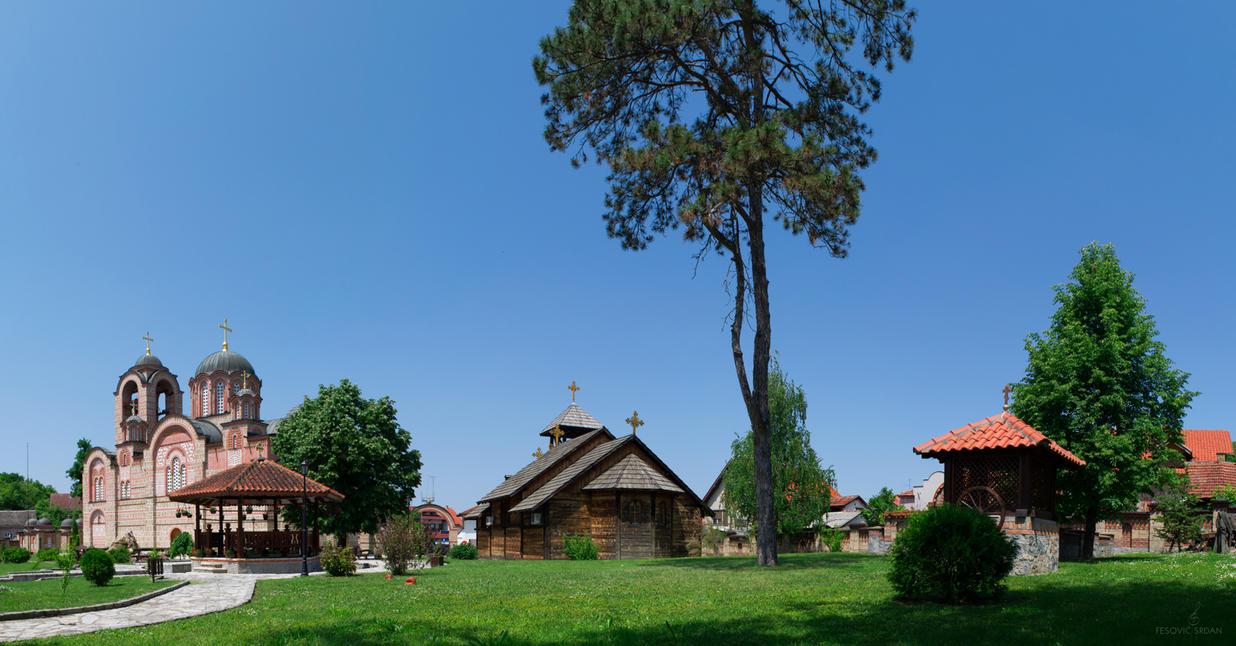 Orthodox Church, Serbia by opusteno