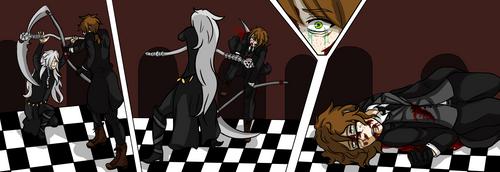 Juliette X Undertaker Battle Scene by AmericanNordic