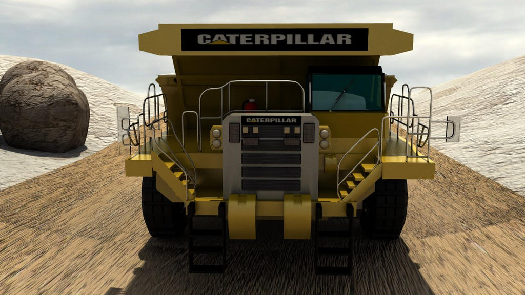 Caterpillar Dump Truck by Ubukata
