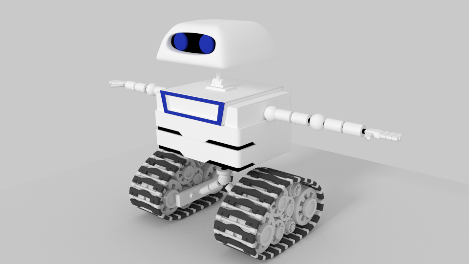 Little Robot by Ubukata