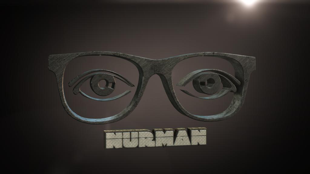 3D Nurman Logo by Ubukata