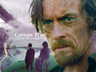 Captain Flint- Black Sails by spiritcoda