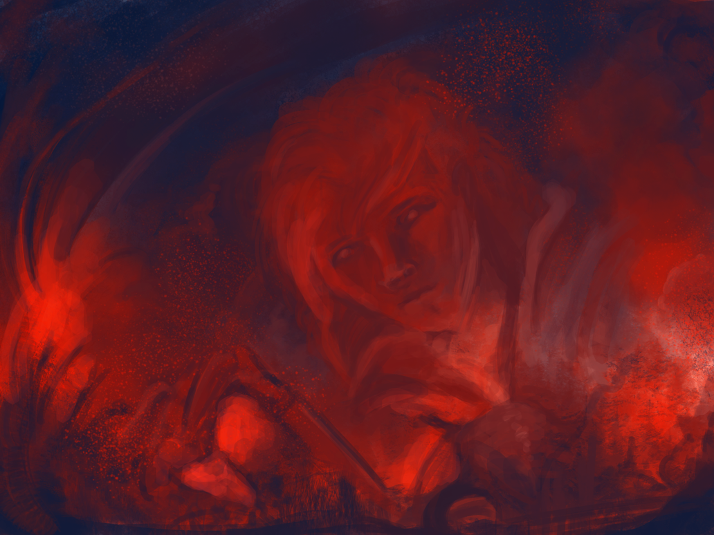 Let My Power Run in Flames by spiritcoda