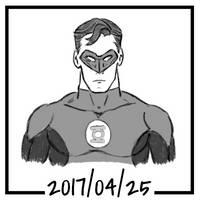 Sketch daily 2017-115, Green Lantern