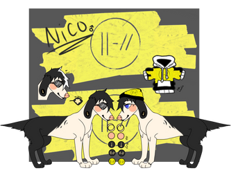 Nico and the niners by AshenBeastCreations
