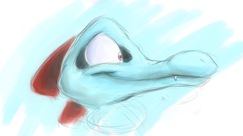 OC TOTODILE by Rage28