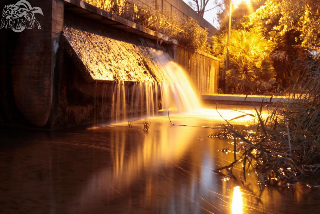 Water at sunset by Daruku-maru
