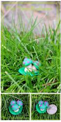 LoL: Mini Teemo Mushroom Figurine by Railey98