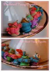 Wonderland Teacup Cupcake Charms by Railey98