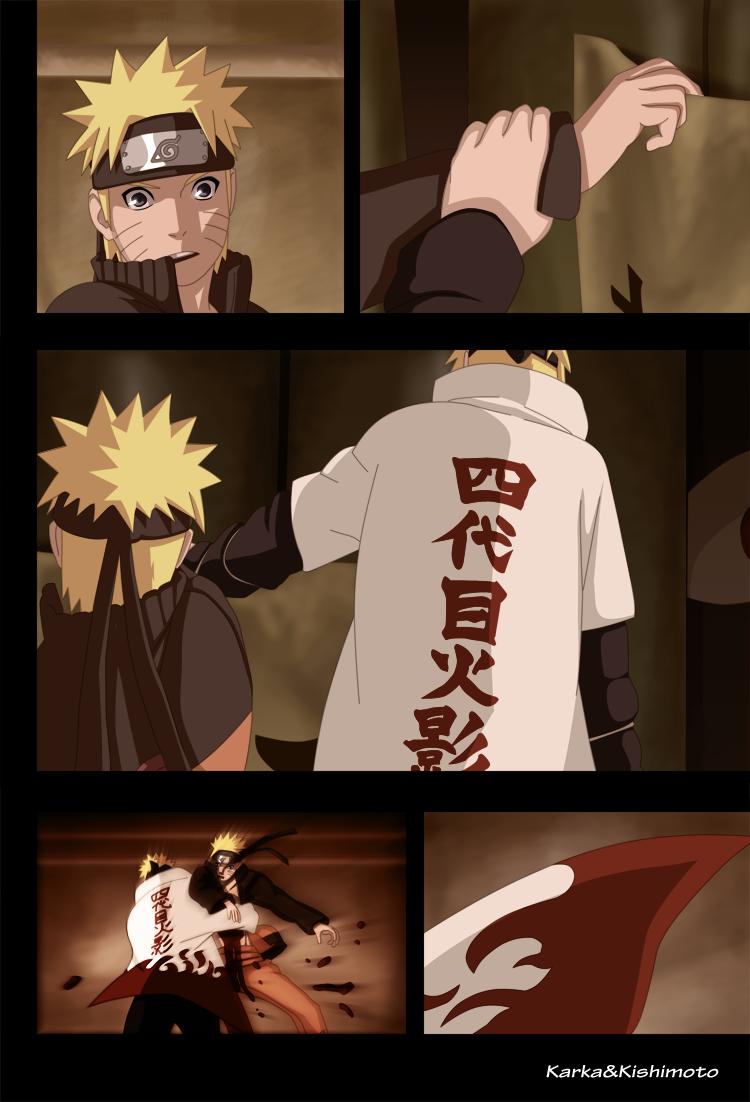 Minato and Naruto by karka92