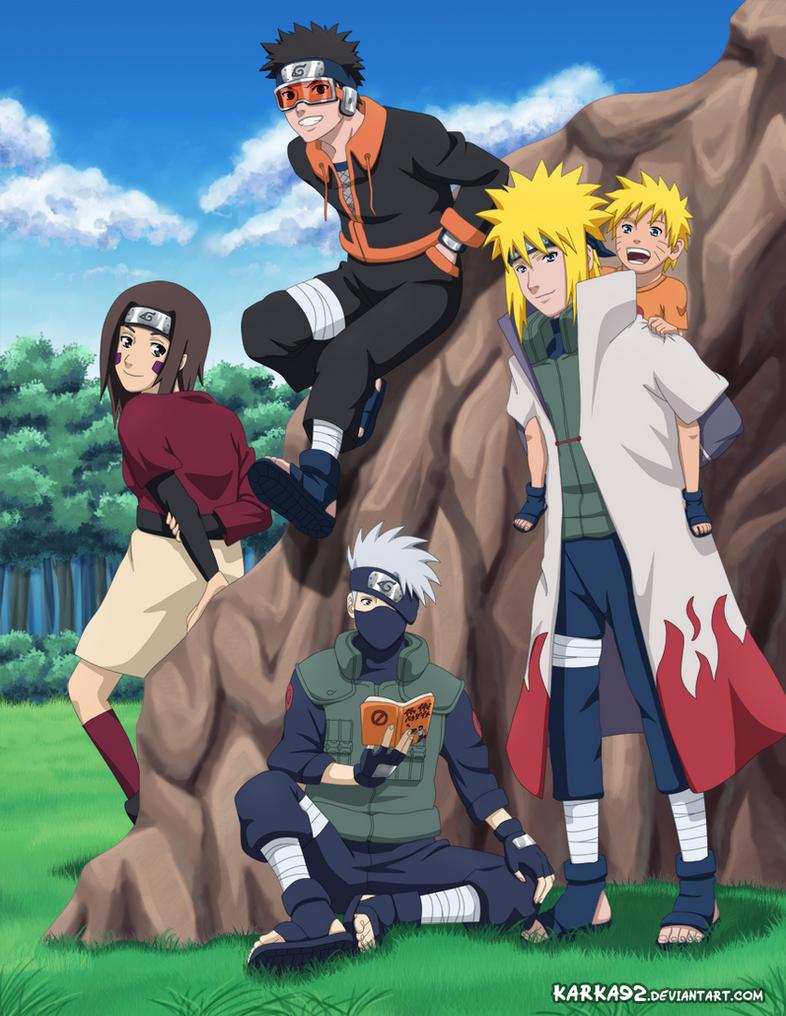 Team Minato by karka92
