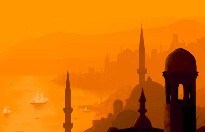 oriental city by stariander